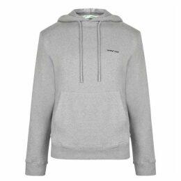 Off White Logo Hooded Sweatshirt