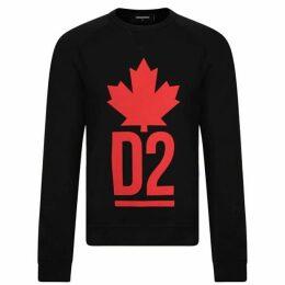 DSquared2 Maple Logo Sweatshirt