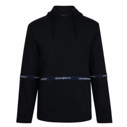 Emporio Armani Tape Hooded Sweatshirt