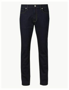 M&S Collection Shorter Length Slim Fit Stretch Jeans