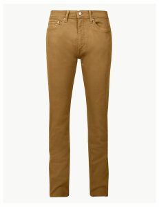 M&S Collection Tapered Fit Jeans with Stretch