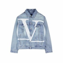 Valentino Logo-print Denim Jacket