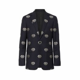 228a3b5a5 Men s Ted Baker Single Breasted Giraffe Tonal Check Suit Jacket ...