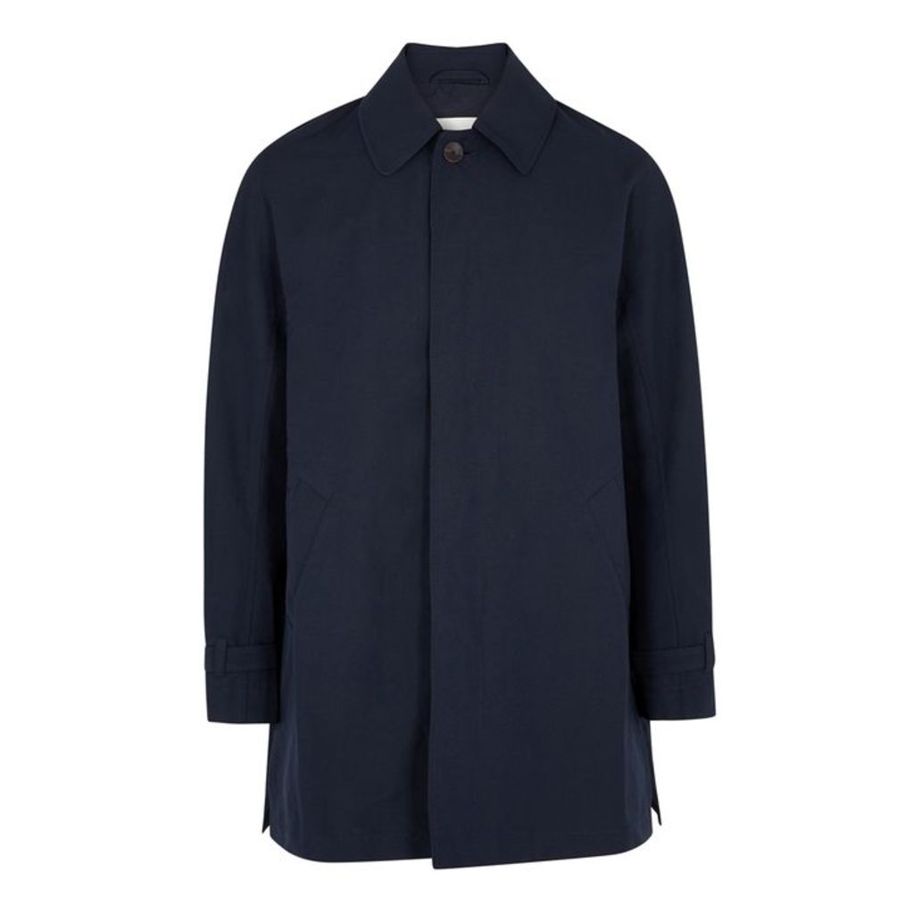 A Kind Of Guise Navy Woven Jacket
