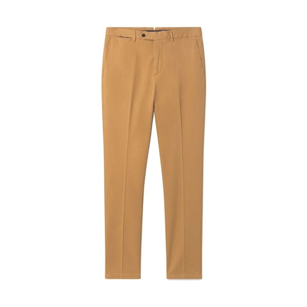 Hackett Sanderson Tailored Fit Cotton Chino Trousers