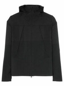 Descente Allterrain black zipped hooded jacket