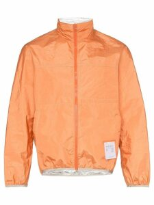 Satisfy reversible windbreaker jacket - Orange