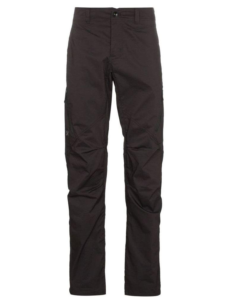 Arc'teryx zip pocket straight utility trousers - Black