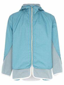 BYBORRE Gore-Tex hooded jacket - Blue