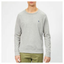 Polo Ralph Lauren Men's Towelling Lightweight Sweatshirt - Andover Heather - XXL - Grey