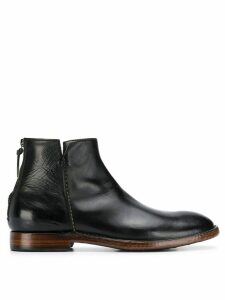 Silvano Sassetti zipped boot - Black