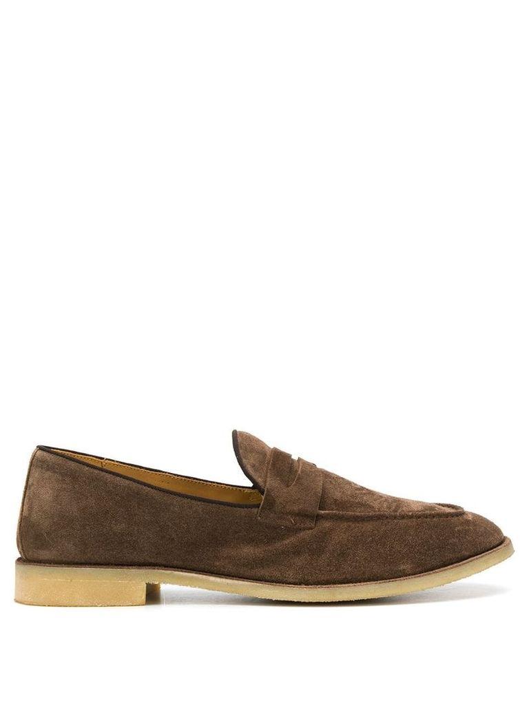 Alberto Fasciani Xavier loafers - Brown