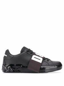 Dolce & Gabbana Melt Portofino sneakers - Black