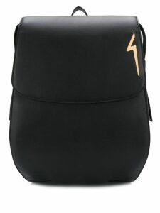Giuseppe Zanotti G-flash backpack - Black