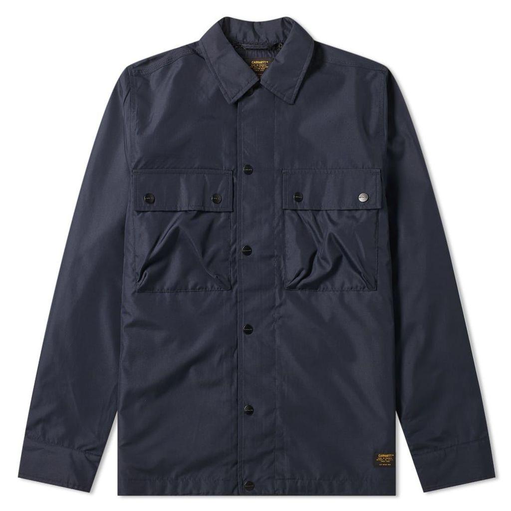 Carhartt Fargo Shirt Jacket Dark Navy
