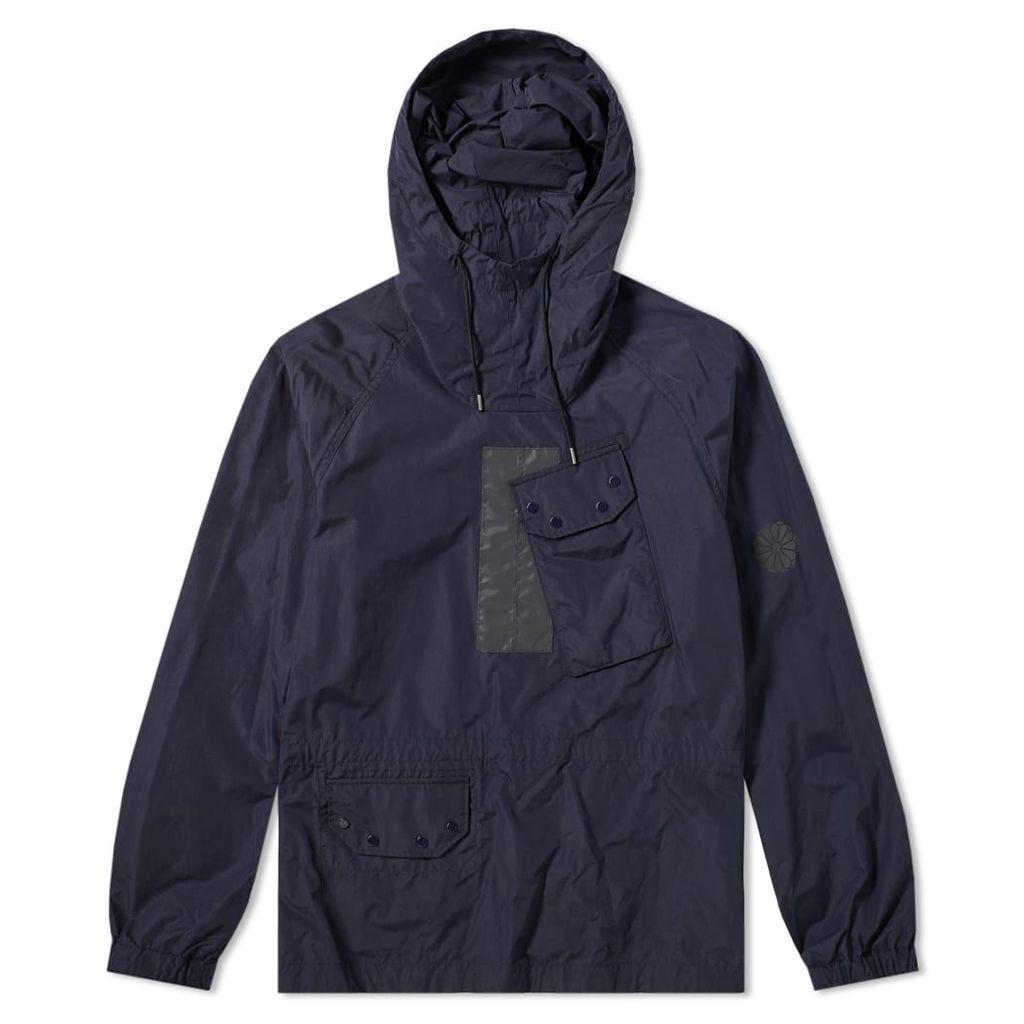 Ten C Mistral Popover Hooded Jacket Navy
