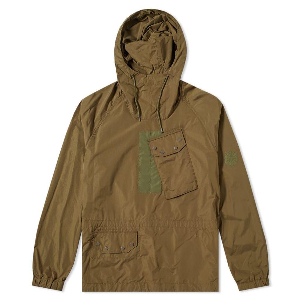 Ten C Mistral Popover Hooded Jacket Olive