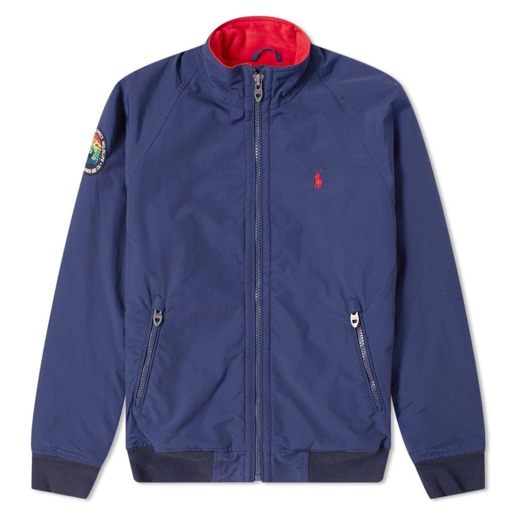 Polo Ralph Lauren Lined Harrington Jacket Newport Navy