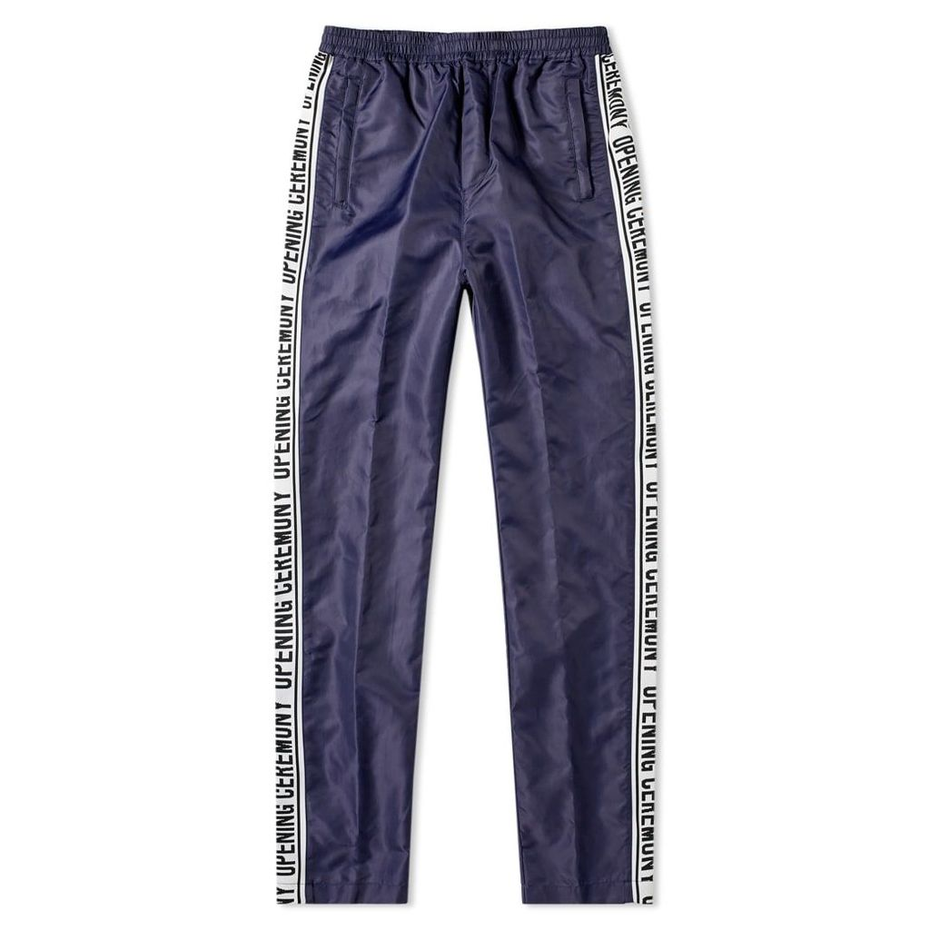 Opening Ceremony Taped Logo Warm Up Pant Collegiate Navy