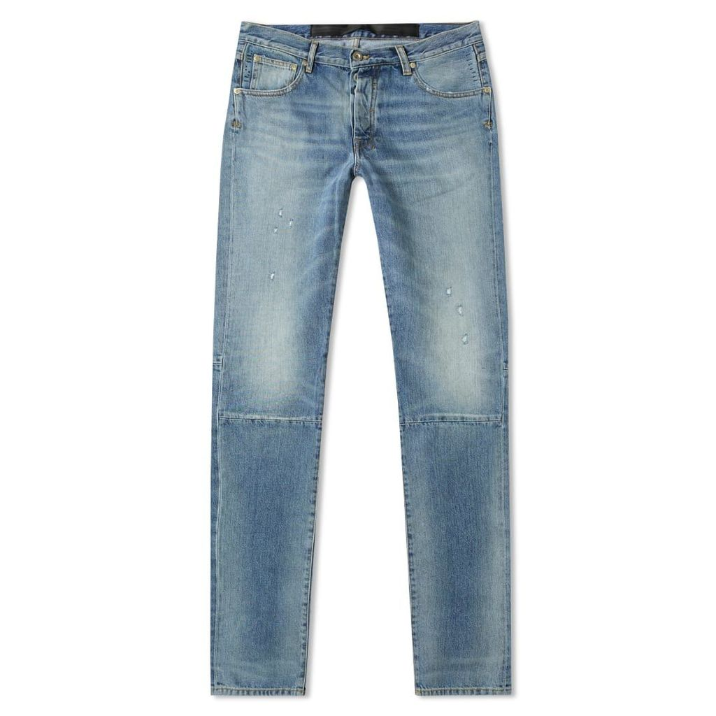 Unravel Project Repaired Skinny Jean Washed Blue