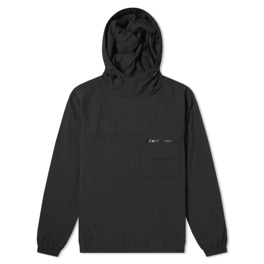 Aimé Leon Dore Hooded Logo Anorak Jacket Black
