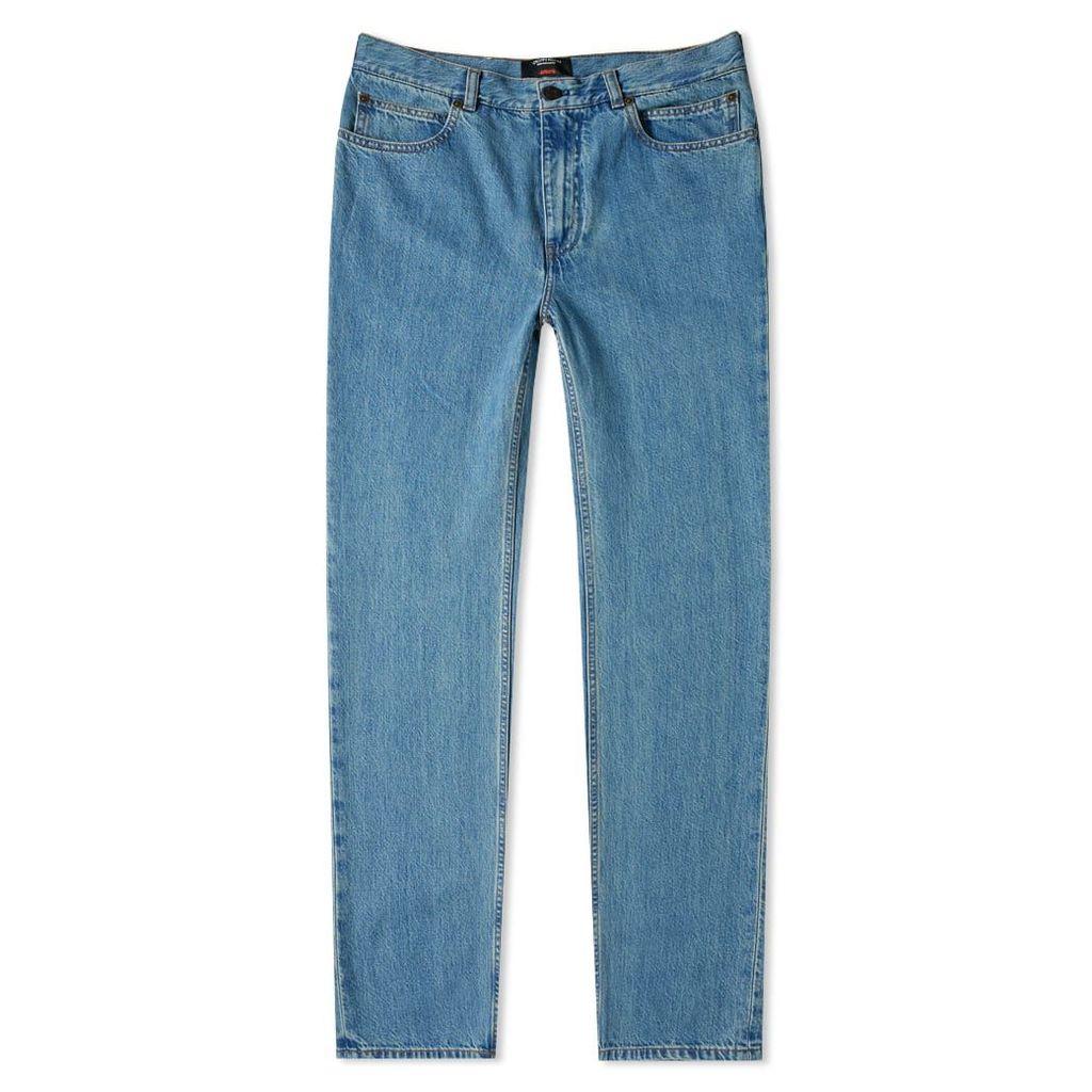 Calvin Klein 205W39NYC JAWS Back Pocket Jean Blue