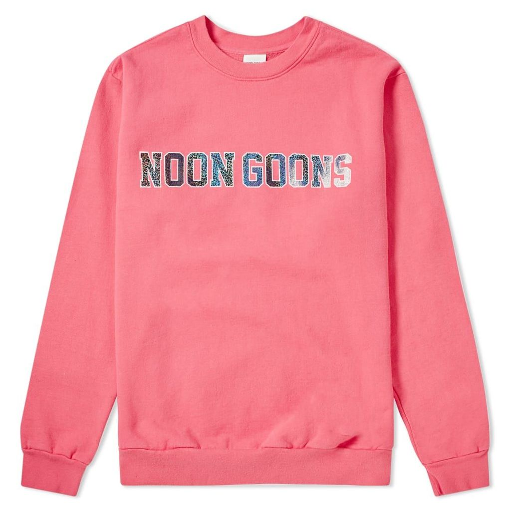 Noon Goons Star Eyed Crew Sweat Pink