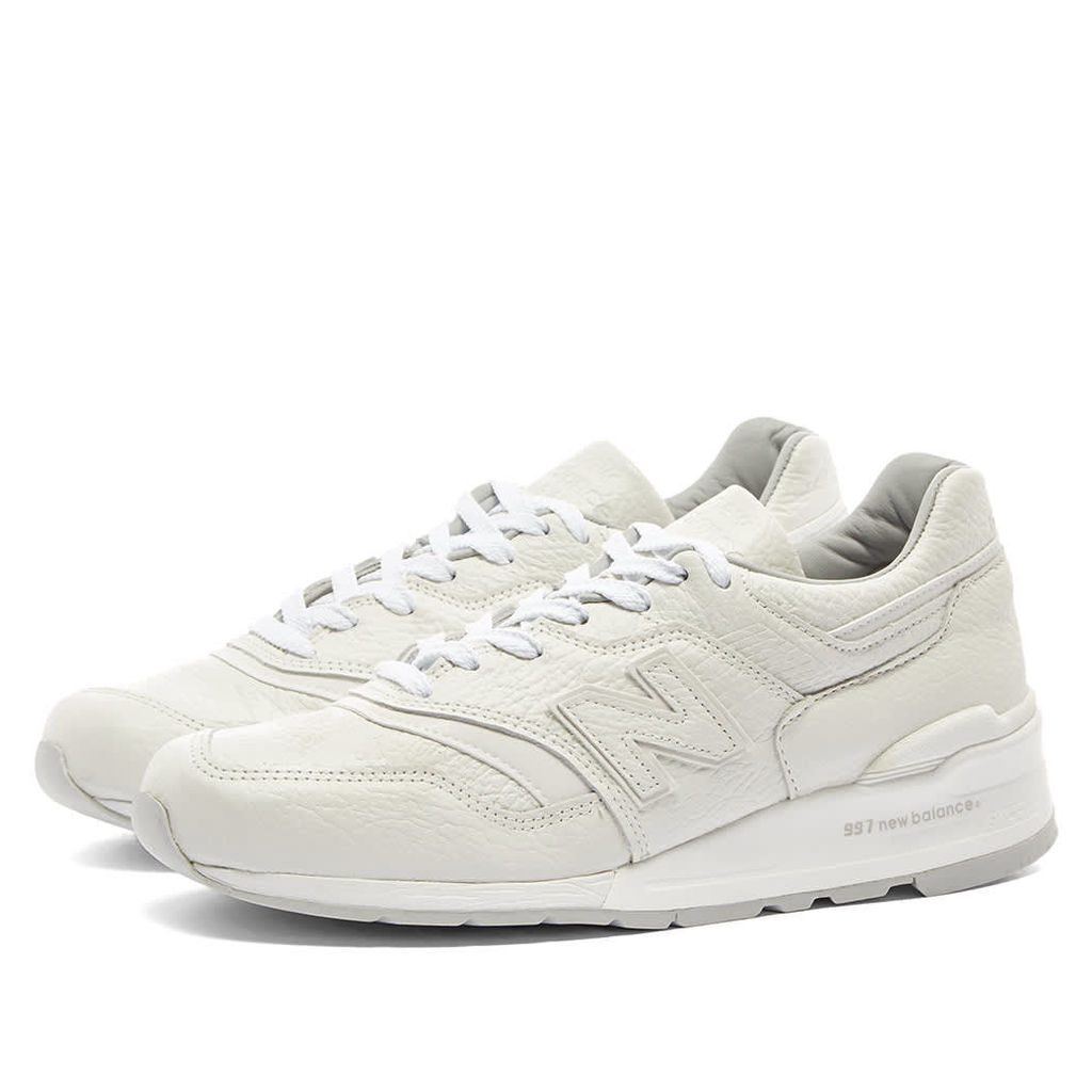 New Balance M997BSN 'Bison Leather' - Made in the USA White