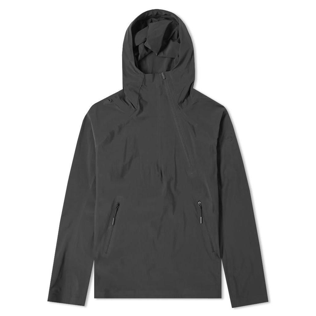 Descente Allterrain Parahem Packable Hooded Jacket Black