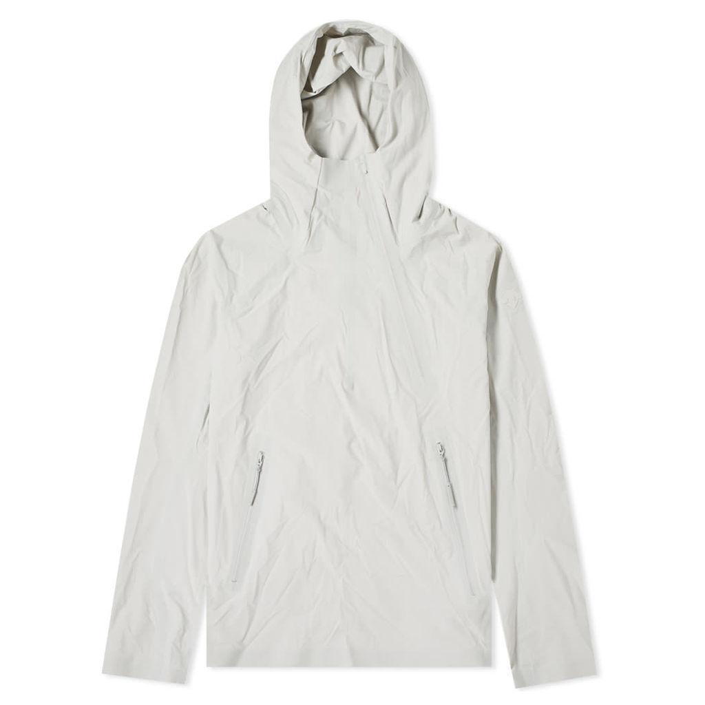 Descente Allterrain Parahem Packable Hooded Jacket Ecru