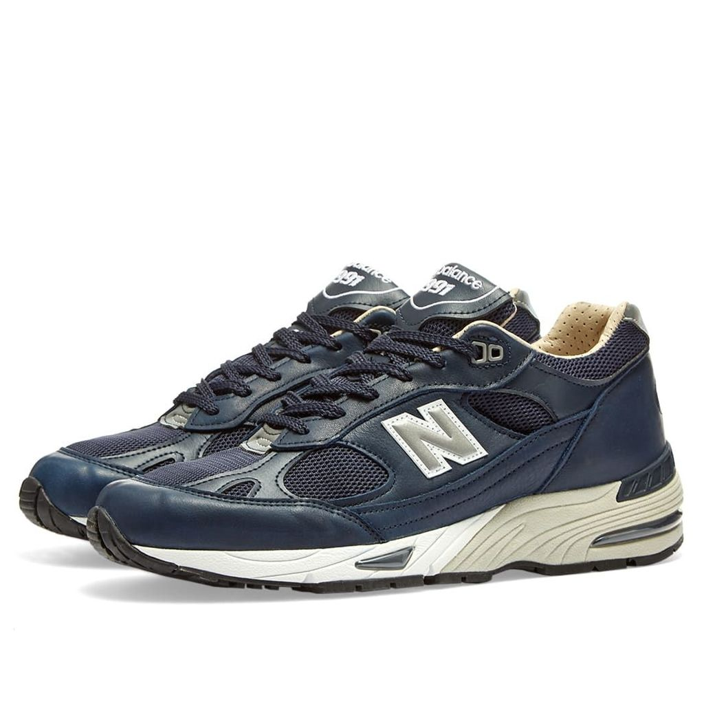 New Balance M991NNN - Made in England Navy Leather