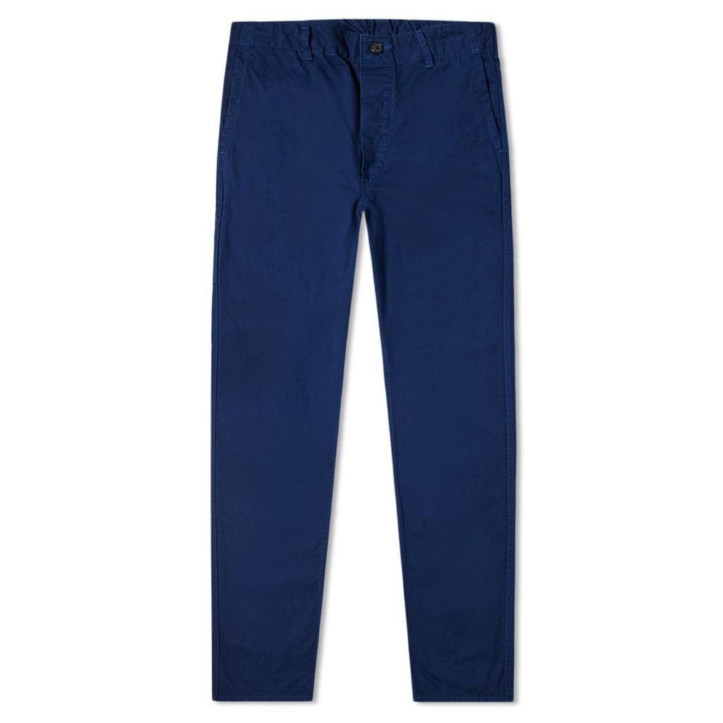 orSlow French Work Pant Blue