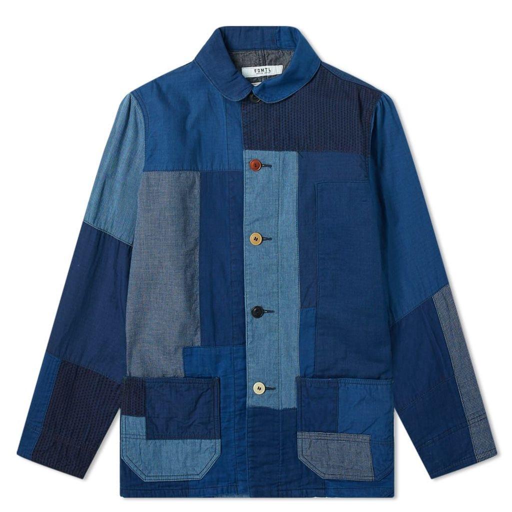 FDMTL Sashiko Coverall Jacket Indigo