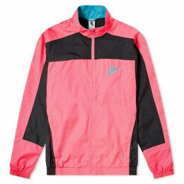 Nike x Atmos Vintage Patchwork Track Jacket Hyper Pink, Black & Hyper Jade