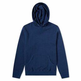 FDMTL Indigo Pullover Hoody Indigo Blue