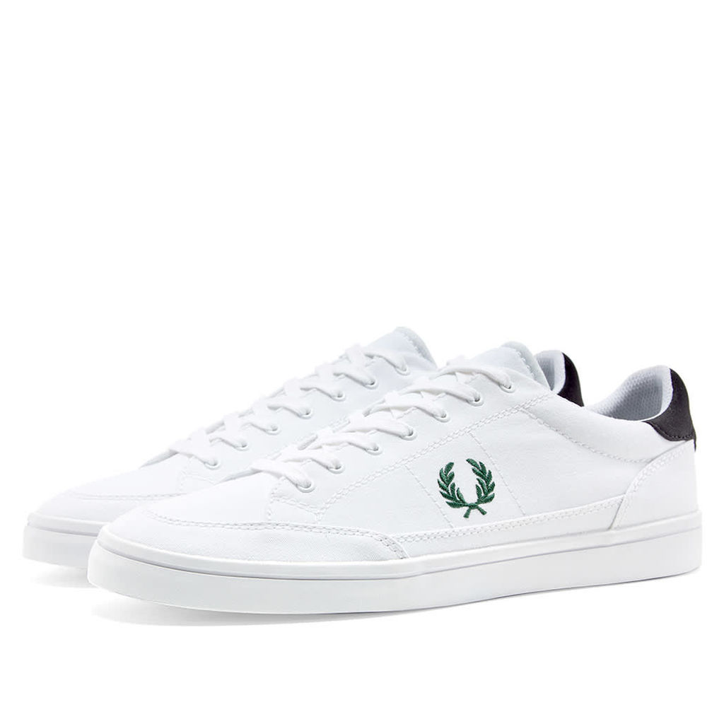 Fred Perry Deuce Canvas Sneaker White & Ivy