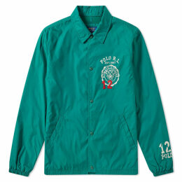 Polo Ralph Lauren Varsity Coach Jacket Vermont Green