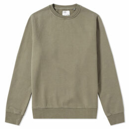 Colorful Standard Classic Organic Crew Sweat Dusty Olive