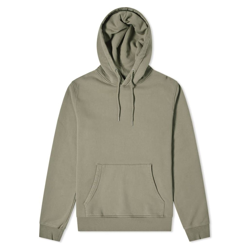 Colorful Standard Classic Organic Popover Hoody Dusty Olive