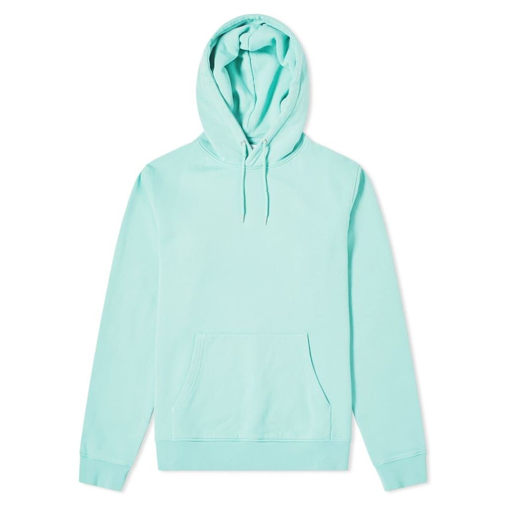 Colorful Standard Classic Organic Popover Hoody Faded Mint