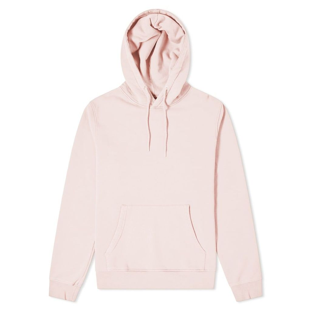 Colorful Standard Classic Organic Popover Hoody Faded Pink