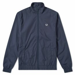 Fred Perry Woven Track Jacket Dark Airforce