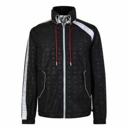 MCM Reversible Monogram Nylon Windbreaker Jacket