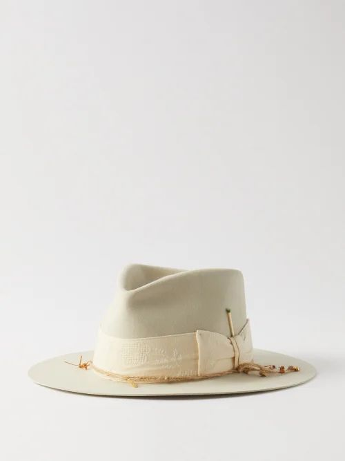 Karhu - Fusion 2.0 Leather And Suede Trainers - Mens - Blue Multi