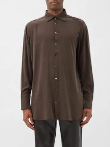 Grenson - Leander Leather Boots - Mens - Brown
