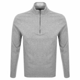 Michael Kors Half Zip Elevated Sweatshirt Grey