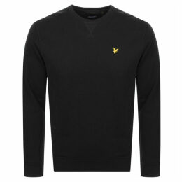 Lyle And Scott Crew Neck Sweatshirt Black
