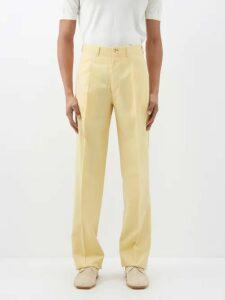 Maison Kitsuné - Fox Appliqué Cotton Hooded Sweatshirt - Mens - Beige