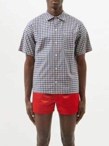 Stone Island Shadow Project - Digital Camouflage Hooded Ripstop Jacket - Mens - Grey