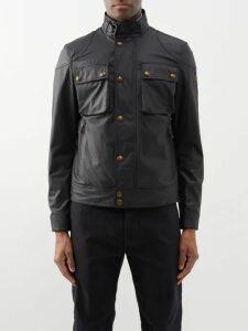 Vetements - Reflective Nylon Parka Jacket - Mens - Black